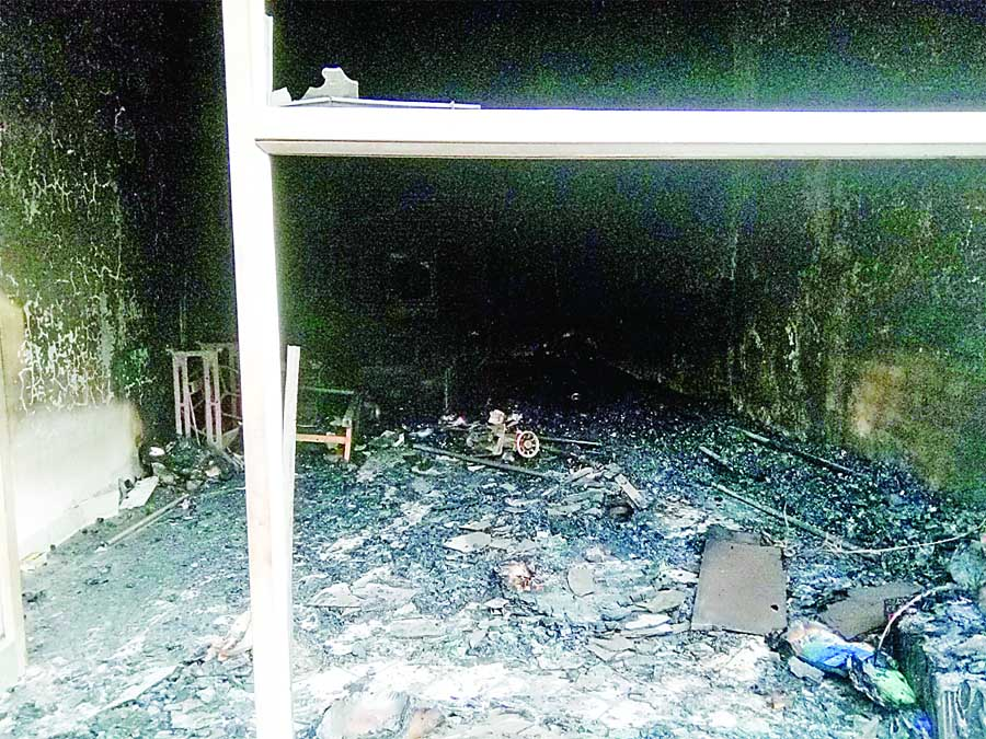 Fire, Shop, Accused, Arrested, Police, Haryana