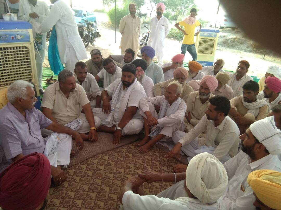 Strike, Continue, Farmers, Charged, Rajasthan