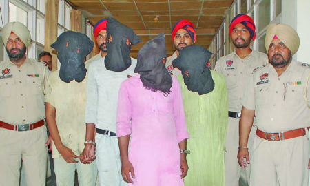 Gang, Robbery, Arrested, CIA, Gold, Bike, Punjab