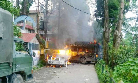 Gorkhaland Andolan, Politics, Violent, West Bengal