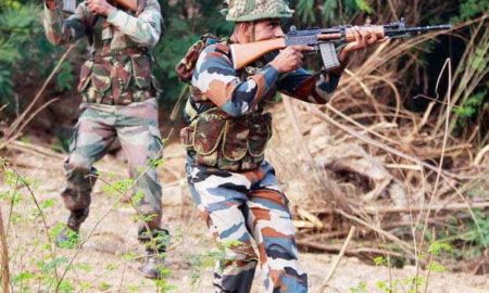 Intrusion, Attempt, Terrorists, killed, Soldier, Indian Army, India