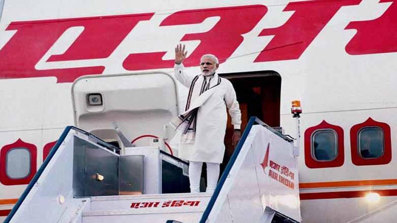 PM, Narendra Modi, Departs, 3 Countries, US