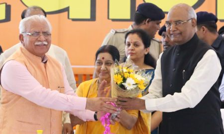 Ram Nath Kovind, Vote, MLA, MP, BJP, Haryana