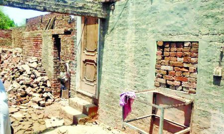 Roof Collapse, Dead, Injured, Rain, Moga
