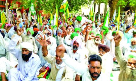 Farmers, Protest, Captain Govt, Demand, Raised, Strike