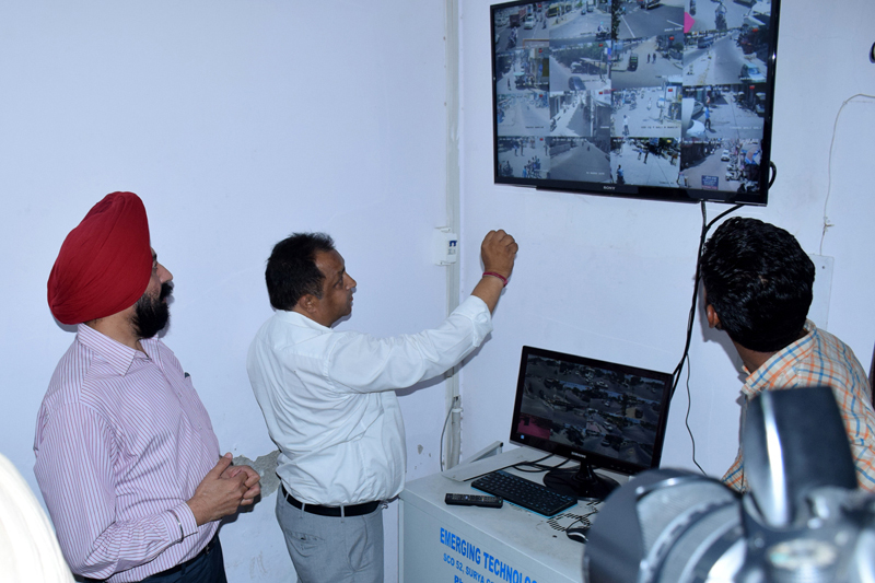 Police, Intelligence, Cameras, Activity, Punjab