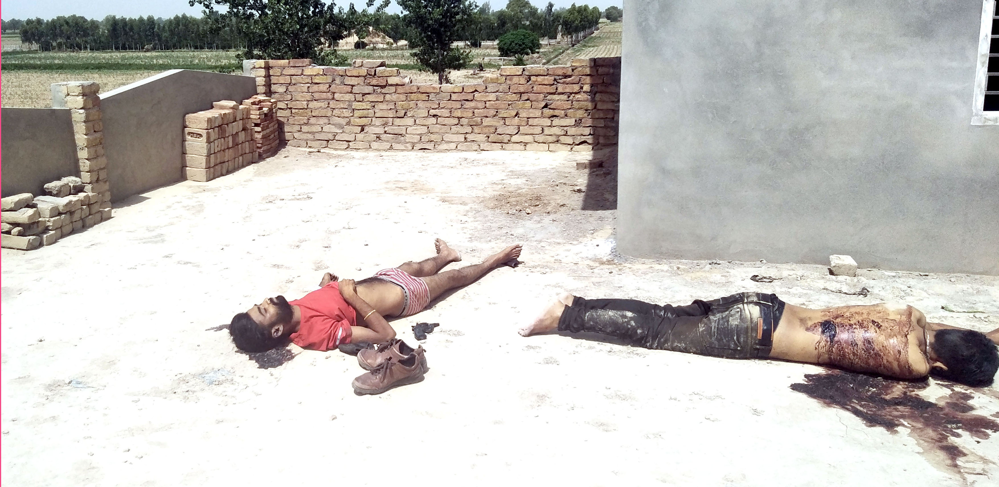 Shot Himself, Gangster, Surrounded, Police, Suicide, Haryana