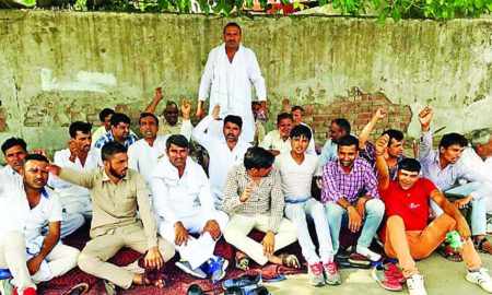 Bus Drivers, Protest, Society, Transport Department, Strike, Raised, Roadways, Haryana