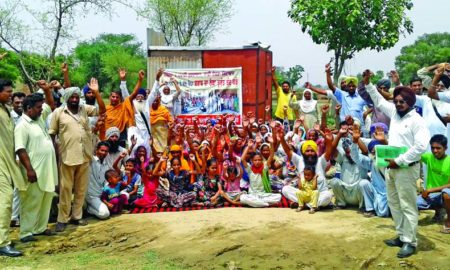 Villagers, Protest, Committee, Strike, Raised, Workers, Village, Punjab