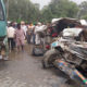 Death, Road Accident, Injured, Car, Bus, Punjab