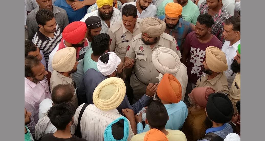 Roadways Staff, Blocked Traffic, Police, Case, Punjab