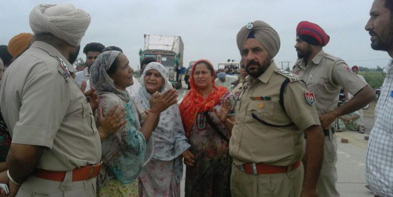 National Highway, Jam, Demand, Arrest, Accused, Police, Punjab
