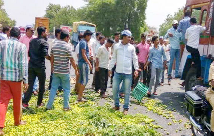 Farmers, Strike, Ends, Maharashtra, Financial Help, Mitting