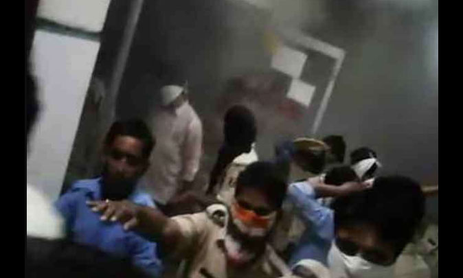 Fire, AC, Hospital, Patient, Rajasthan