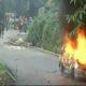 Raid, GJM Premises,Weapons, Increased Violence, Burn Car