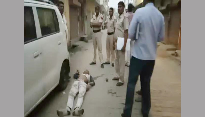 Murder, Young Man, Knife, Police, Haryana