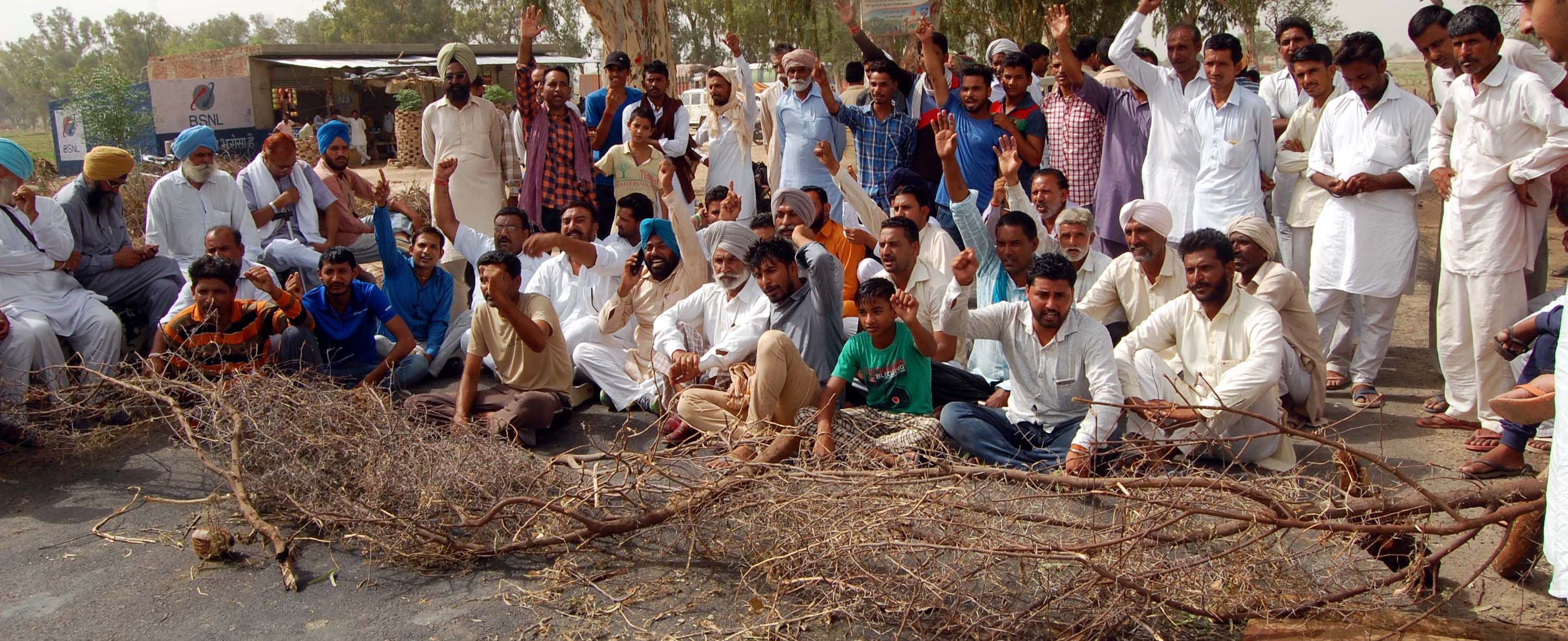 Business Stalled, Strike, Farmers, Highway Jam, Rajasthan
