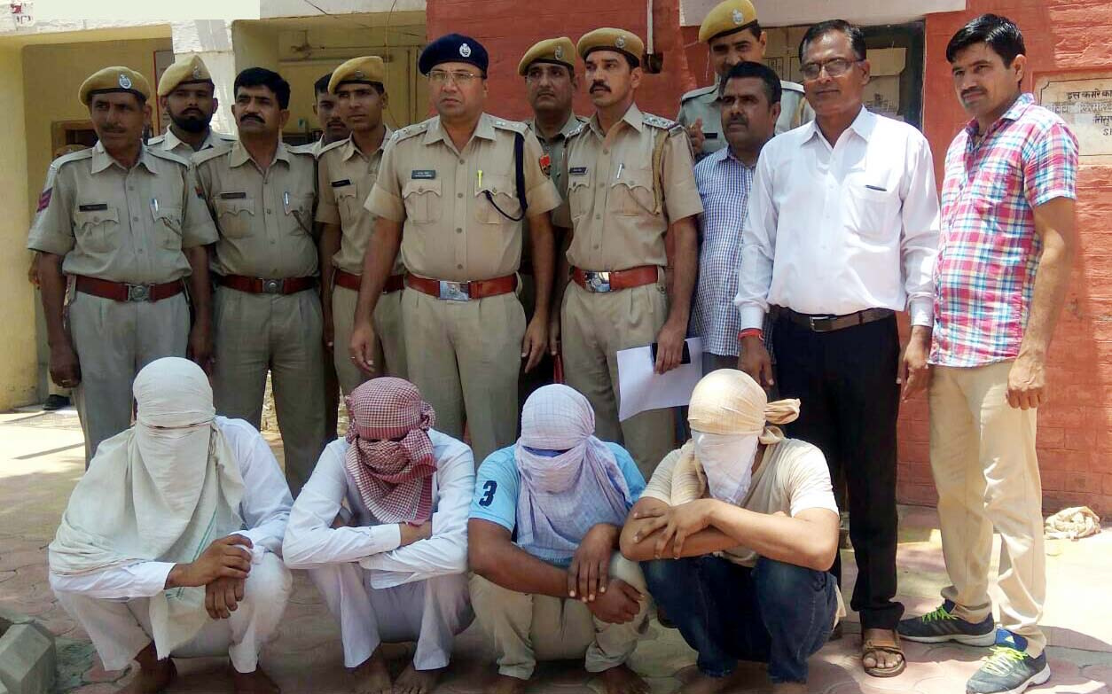 Accused, Arrested, Anand Pal, Gang, Police, Rajasthan