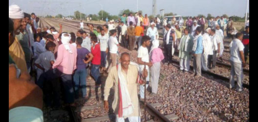 Jaat Agitation, Strike, Government, Train Route Interrupted, Rajasthan