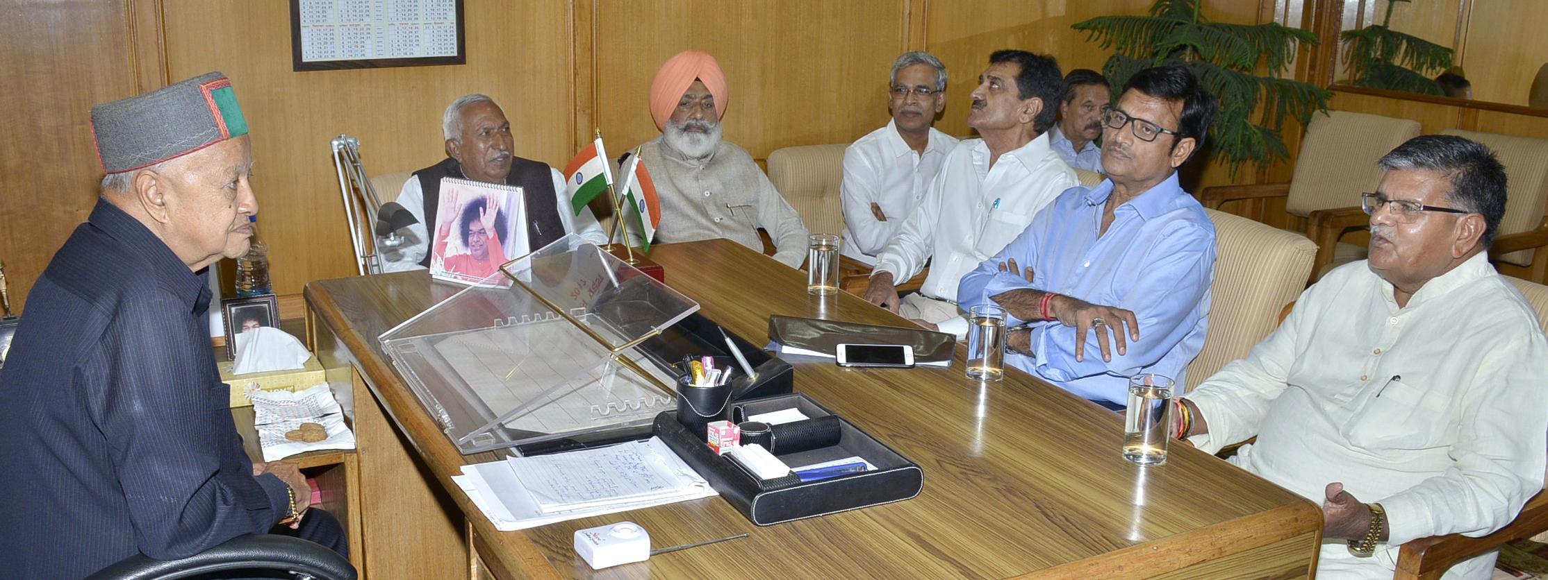 Meeting, Himachal Pradesh, Rajasthan, Government, Problem Solving