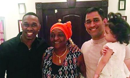 Dwayne Bravo, Hospitality, Indian Cricketers, MS Dhoni
