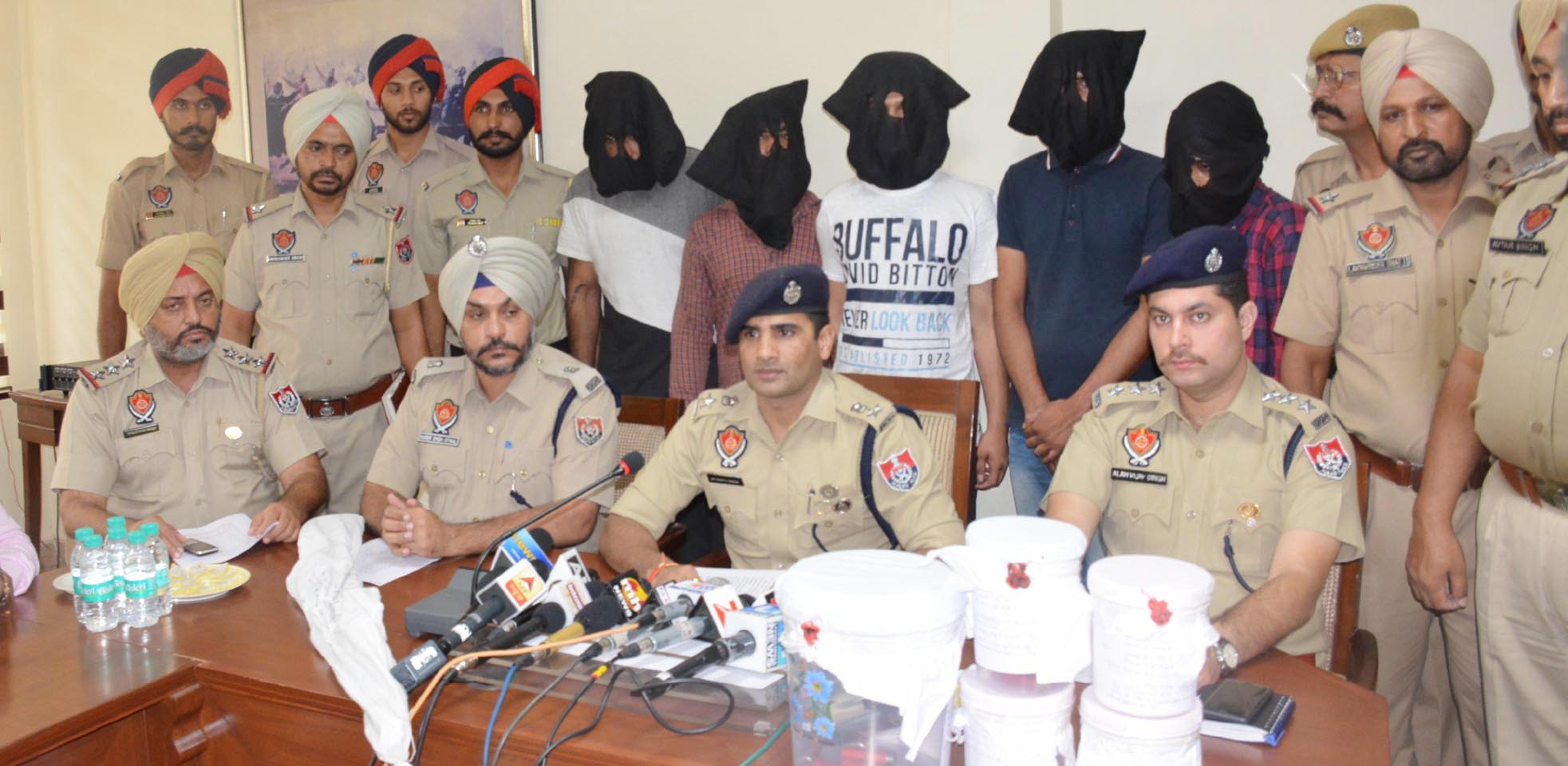 Busted, Interstate Gang, Arrested, Police, Weapons, Punjab