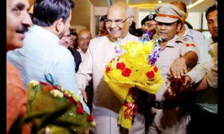 Ram Nath Kovind, Sanjay Kothari, Secretary, President