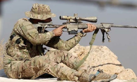 Sniper, Shoot, IS, Terrorist, Killed