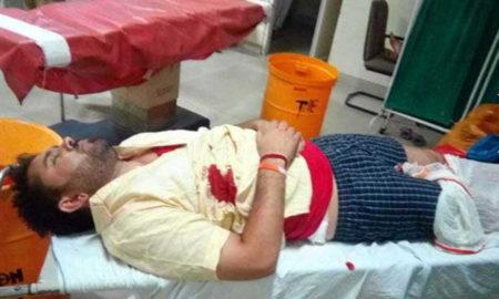 Attack, Student Leader, Knife, Injured, Safe, Crime