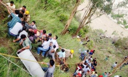Bus, Satluj River, Died, Injured, Accident, Shimla