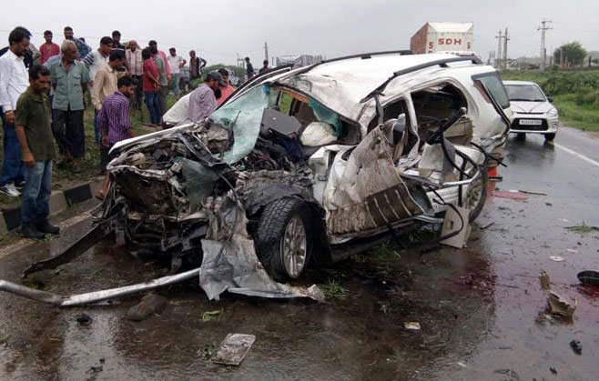 Road Accident, Collision, Died, Fortuner, Traffic, Pali