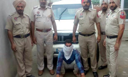 Driver, Arrested, Liquor, Police, Case, Punjab