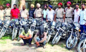 Vehicle, Thief Gang, Exposed, Arrested, Police, Punjab