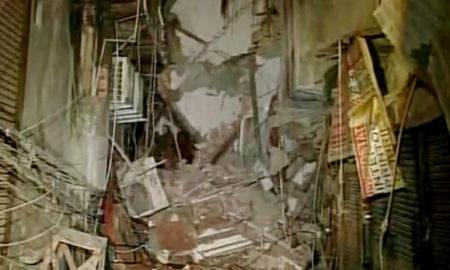 Building, Collapse, Laxmi Nagar, Injured, Hospital, Delhi