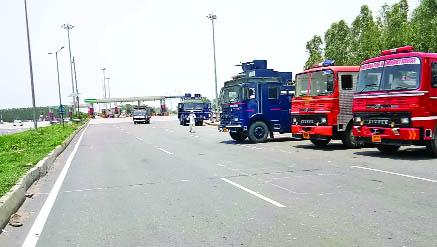 Conditions, Such, Curfew, Shambhu Border, Punjab