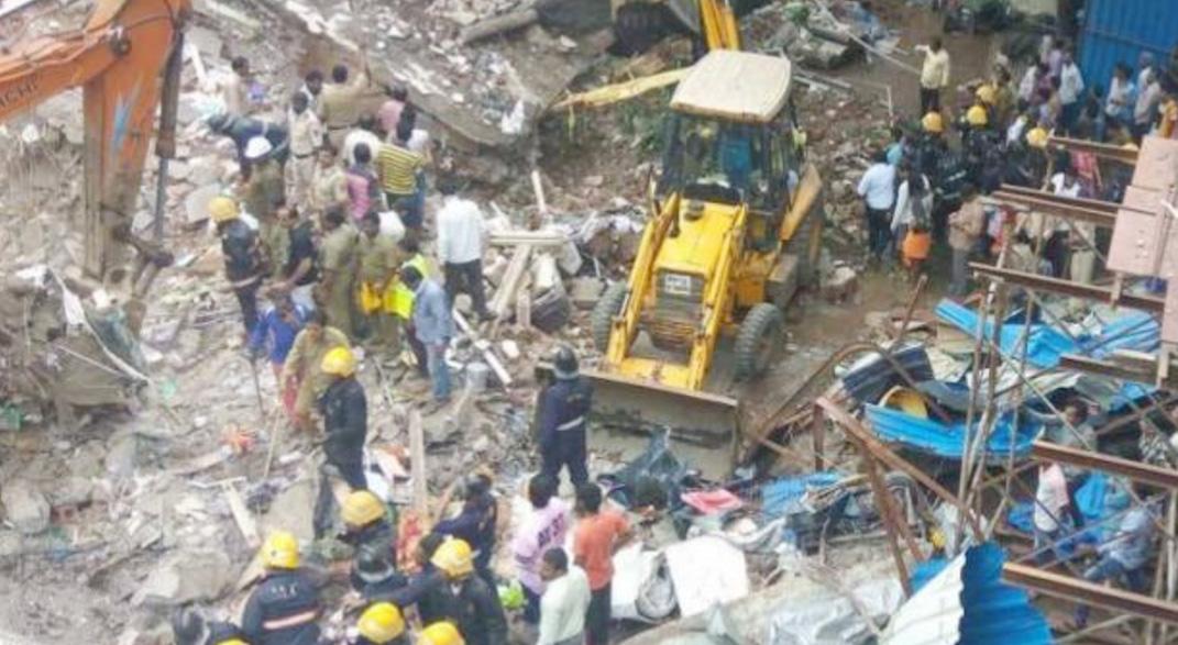 Building Collapse, Death, Injured, Mumbai, Rescue Work