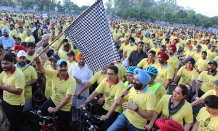 Cycle Rally, Drug, Deaddiction, Awareness, Punjab