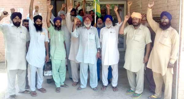 Farmer, Protest, Govt, Power Work, Raised, Strike, Punjab