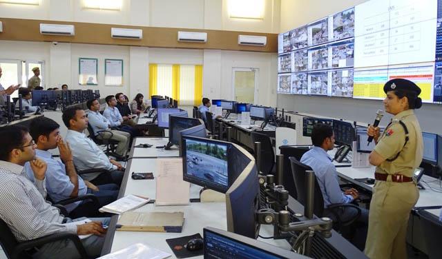 Trainee IAS, Overview, CCTV, Control Room, Methodology, Rajasthan
