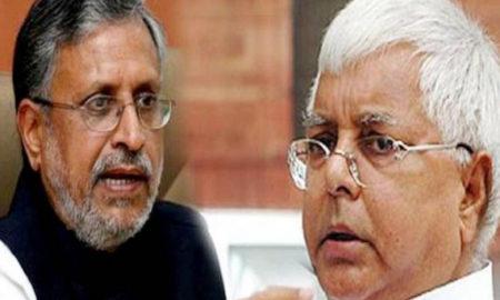 Lalu Yadav, Threatens, Lawsuit, Sushil Modi
