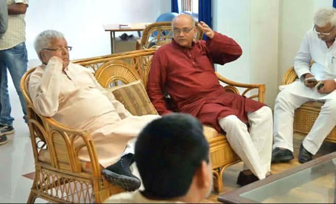 Lalu Parsad Yadav, Press Conference, Chadhipy Yadav, Fraud, Criminal