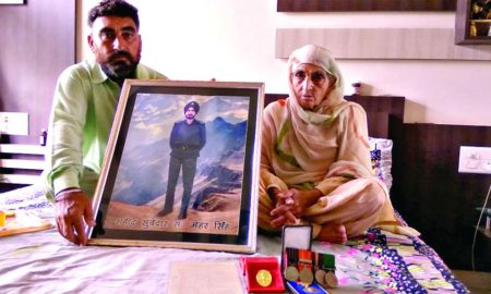Mehar Singh, Proud, Martyrdom, Worry, Future, Indian Army