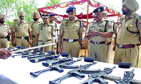 Social Media, Medium, Terror, Visit, DGP, SOG, Punjab