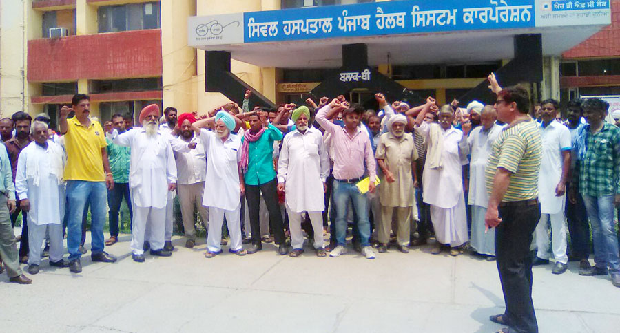 Hospital, Fake Report, Police, Raised, Villagers, Protest, Punjab