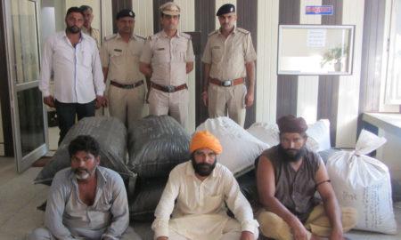Smuggler, Arrested, Intoxicants, Police, Investigation, Haryana
