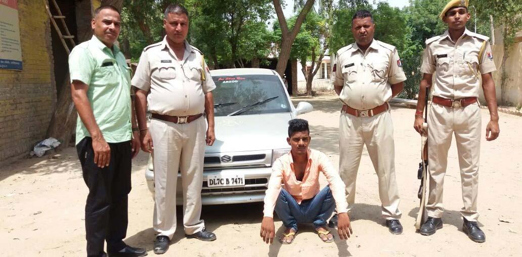Arrested, Thong Wine, Police, Case, Rajasthan