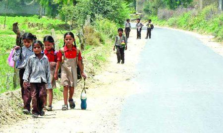 School, Building, Inauguration, Summer, Children, Punjab