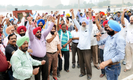 Workers, Protest, Government, Thermal Plant, Punjab