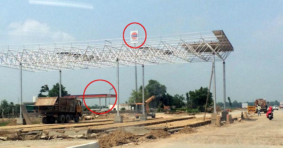 Construction, Zida Toll Plaza, Violation, Govt Rules, Punjab
