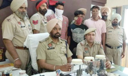 Busted, Gang, Robbery, Arrested, Police, Weapon, Punjab